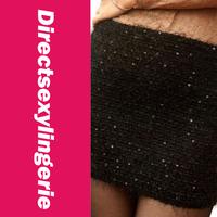 Женская юбка Plush Elasticity Sequins Miniskirt Black LC71035-2 Cheap price Drop Shipping