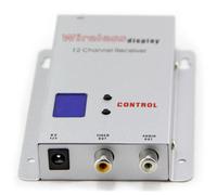 Оборудование для Радио и Телевещания Brand New Wireless 16CH 1.2G 700mW CCTV Audio Video Transmitter Receiver 2 x Antenna # 170055