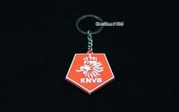 Брелок 20pcs/lot Soccer Brazilian World Cup Football Souvenir National team PVC Keychain Club Key ring