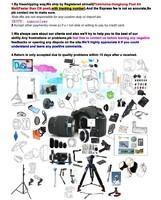 Защитная крышка для объектива 58mm 58 mm White Balance WB Lens Cap for Digital SLR Camera