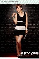 Женское платье excellent quality, unique fashion striped popular hot selling vest skirt