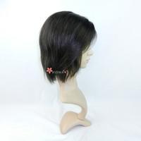 Подарки! человеческой Парики, левая часть парик, Короткие парики, полный шнурок и передние кружево парик с заводской цене, натуральный цвет