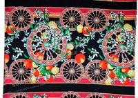Top Grand Printed Elastic Silk Satin Southeast Asia Printing style
