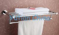 Вешалка для полотенец Bathroom towel holder, Brass towel rack, 60cm round towel rack, YT-4006
