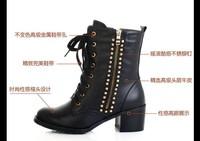 Женские ботинки #R1709F