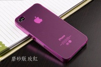 Чехол для для мобильных телефонов High qulaity! NEW 0.2 mm ULTRA THIN frosted frosting BACK CASE matte COVER FOR IPHONE 4 4s