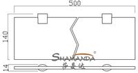 Полочки для ванной комнаты SHAMANDA , + ,  /98013