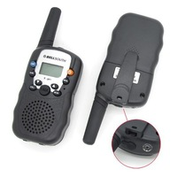 Рация Big Discount! 2pcs/lot 0.5W UHF Auto Multi-Channels Wireless 2-Way Radios Walkie Talkie LCD backlit T-388