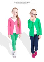 2014 spring kids clothes cotton cardigan coats and jackets breathable girls shirt Sun protection children outerwear