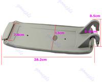 рука отдыха подлокотник центр консоли крышка крышка для audi a4 s4 a6 allroad 00-06 бежевый/черный/серый