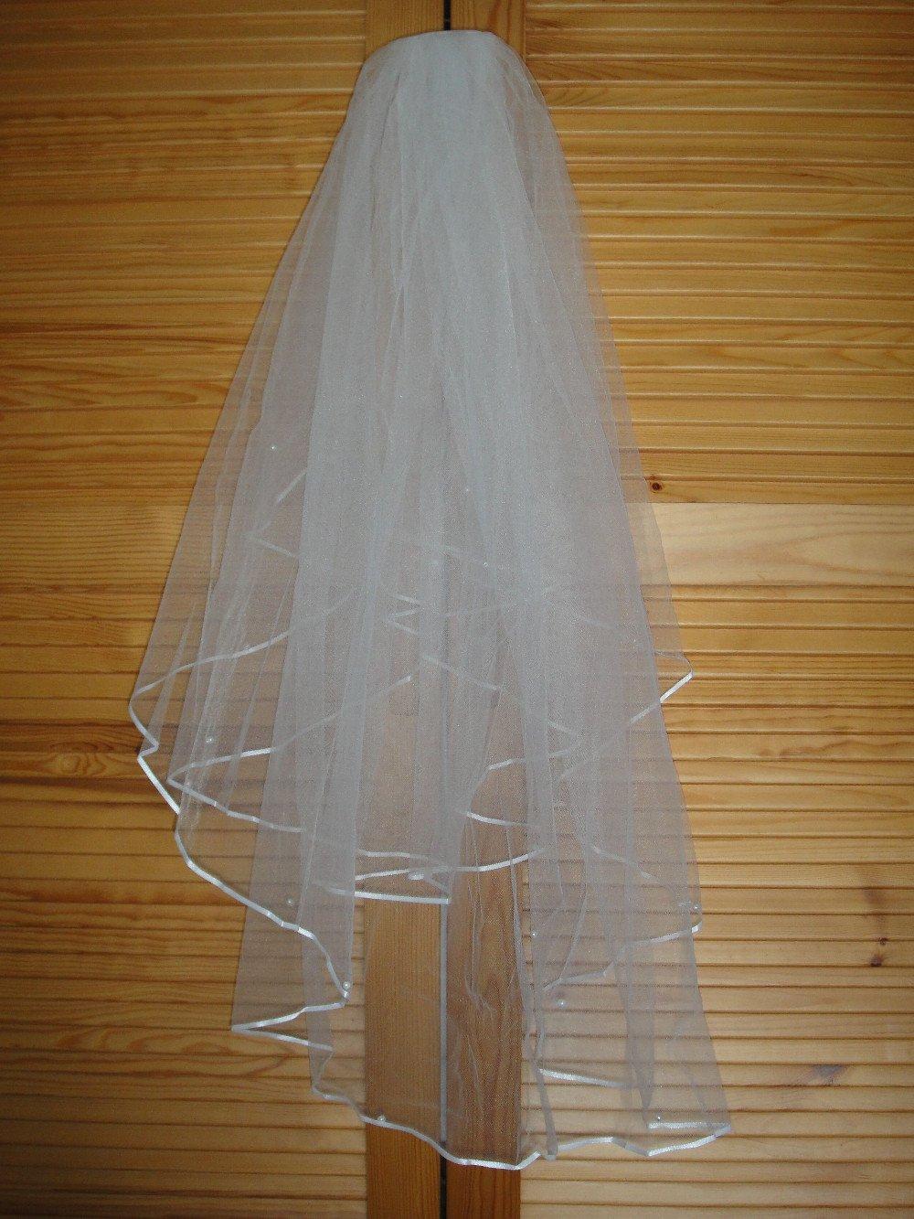 Как сделать фату из тюли