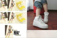 Free email new autumn rivet casual shoes high help shoe tide shoes