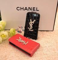Чехол для для мобильных телефонов new design crystal leather mobile-phone case for Iphone 4/4S/5