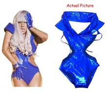 Cosplay Lady Gaga Blue