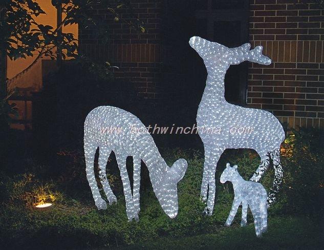 LED 3D animal motif novelty lights