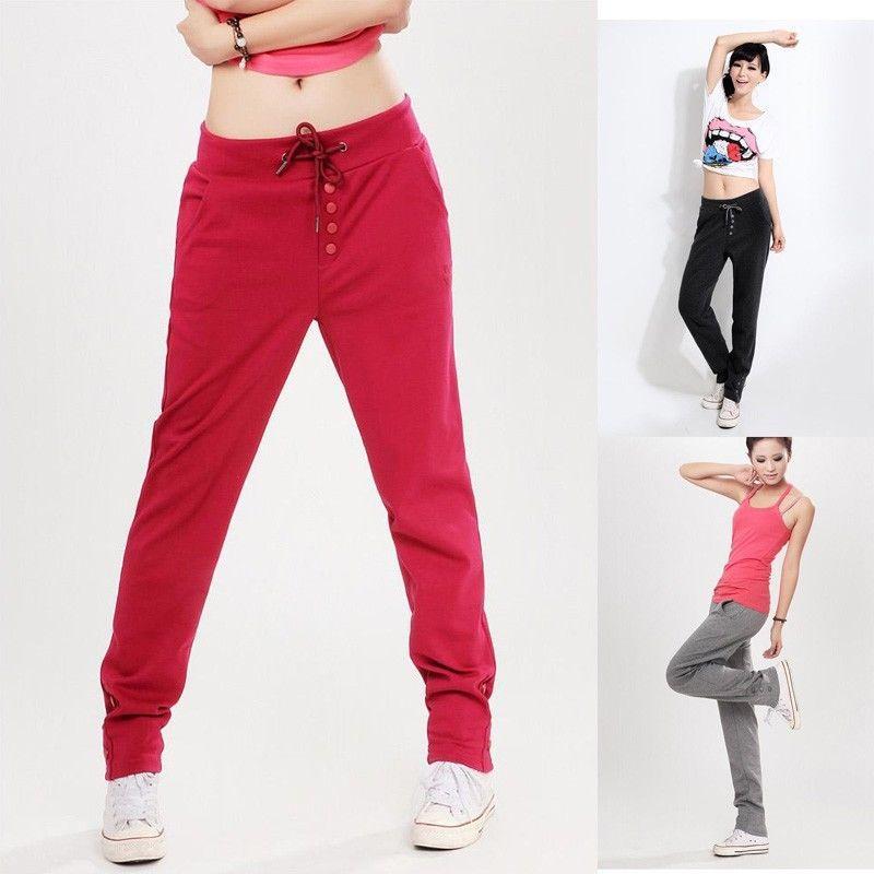 Купить модные спортивные штаны женские