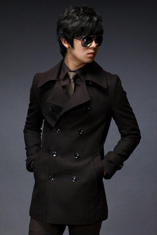 Yeni sezon erkek trençkot palto