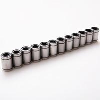 12 шт/комплект линейный шариковый подшипник наружный диаметр 15 мм