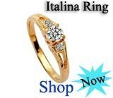 Серьги-гвоздики Italina Rigant Rhinestone Flower Stud Earring Freshwater Pearl