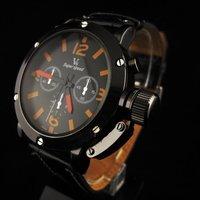 Наручные часы Dropship! Fastshipping 2013 new design swiss Christmas Gift! top brand fashion sports quartz/ leather watches for men