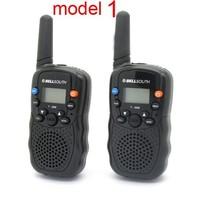 Рация Big Discount! 2pcs/lot 0.5W UHF Auto Multi-Channels Wireless 2-Way Radios Walkie Talkie LCD backlit T-388
