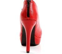 Туфли на высоком каблуке New Sexy high heel shoes /Women Nude boots 1785