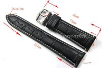 Ремешок для часов 24 Vogue TG104a TG104A  (24mm,Black)