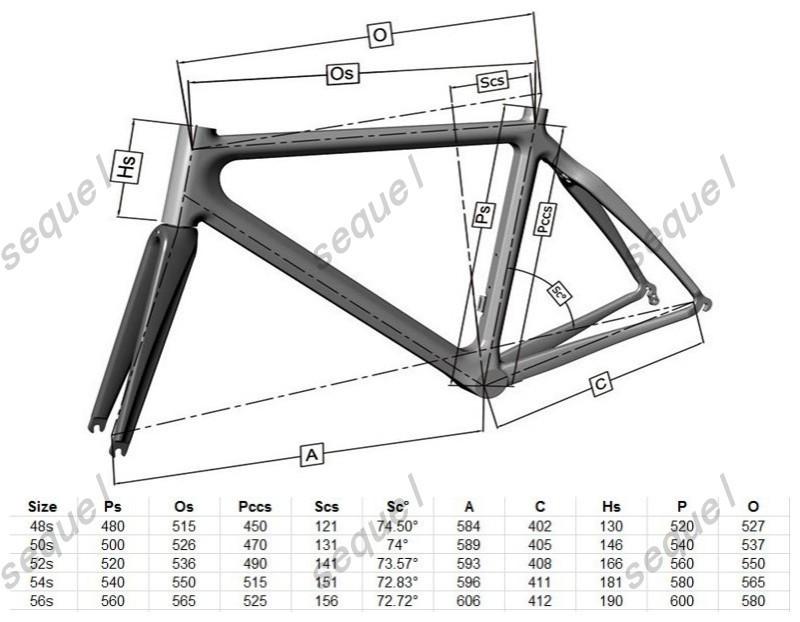 Full Carbon Road Bike Frame Cervlelo S5/Pinarello Dogma 65.1/Colnago ...