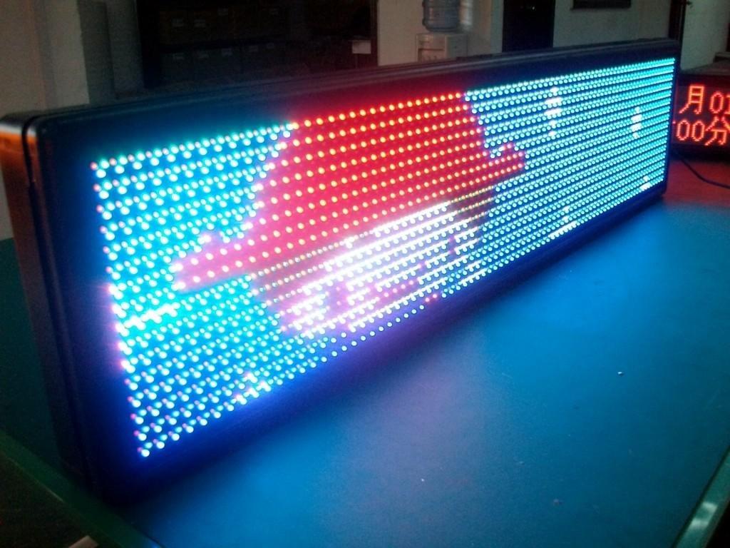 Как я сделал рекламу из светодиодов