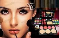 Макияжный набор Hot Sale! New Style Makeup Beauty Kits Set Eyeshadow Face Blusher Pressed Powder 1set/lot