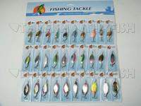 Приманка для рыбалки 30X Various Assorted Laser Spinners Spoon Bait Fishing Fishing Lures Spinners