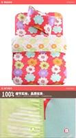 Постельные принадлежности Color sreak pattern 3Pcs of 100%cotton cartoon bedding set luxury include Duvet Cover, Bed sheet, Pillowcase