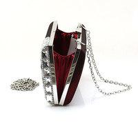 Вечерняя сумка Fashion rhinestone evening bags handbag clutch Spot 12025