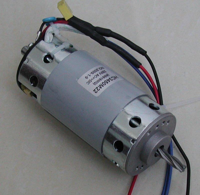 Basit elektrik motoru 110 w 3000 rpm