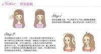 Розничная синтетические парики фестиваля парик 200g/pc 22» цветов: 27/613-strwberry блондинка микс с отбеливатель блондинка
