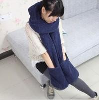 Warm winter scarf / gloves / hats / three-piece set