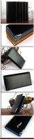 Кошелек Mens Long Multi-color Leather Purse Pockets Card Clutch Cente Bifold Wallet 1124