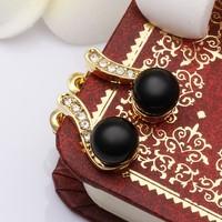 Серьги-гвоздики 18K Gold Plated Pearl Earrings, Make With Freshwater Pearl Earrings, Fashion Antiallergic Jewelry RGPE486
