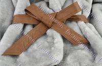 Новый дневніх! короткие пушистые женские, пальто из искусственного меха кролик волос меха воротник женщин подпоясанный верхняя одежда куртки женщин 3376