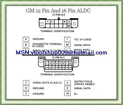 Gm 12 pin obd2 своими руками