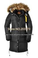 от ems Кадьяк длинное пальто женские моды люксового бренда пуховик зимний открытый жизни реальной мех 5colors dt043