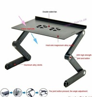 Складной стол gold supplier new brand high quality and folding aluminum computer table, laptop desk, computer desk, no