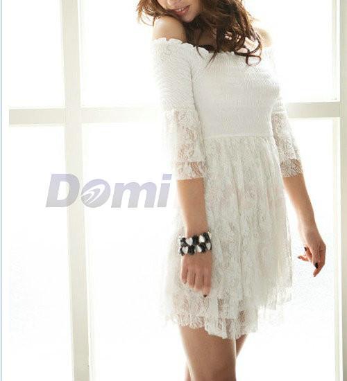 Белое платье кружевное своими руками