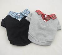 Собака рубашки Толстовки v-образным вырезом, собака рубашка, Одежда для мелких собак