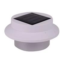 Светодиодная панель 2pcs Solar Powered Garden Gutter Bright 3 LED light With Bracket Auto on/off