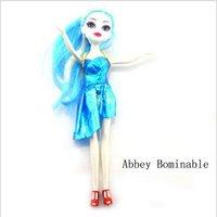 "Fashion Dolls Hot sale popular Monster High 10"" 5pcs/set toys 5pcs/lot"