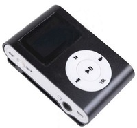 Mini clip mp3 player with screen support TF card freeshipping