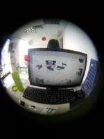 Объектив для мобильных телефонов Detachable Magnetic 190 Degree Super Telephoto Fisheye Lens Fish Eye for Mobile Phones iPhone 5 4 4S Samsung HTC