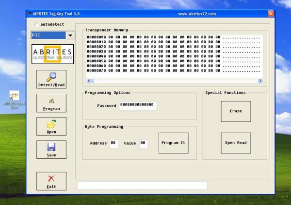 SVDI VW/AUDI Diagnostic Interface Software dispaly 1