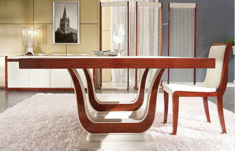 Muebles italianos de dise o hogar mesa de comedor con for Mesa comedor diseno italiano
